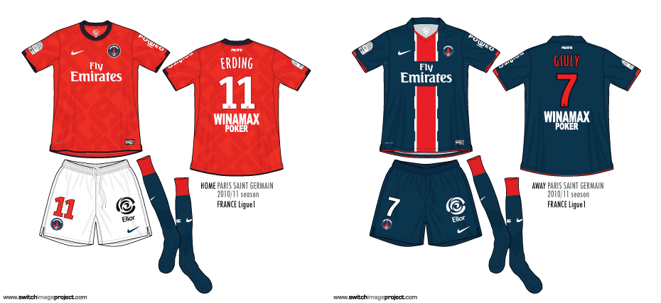 11876aa360b Paris Saint Germain also launched the limited edition club's 40th  anniversary shirt same design as the home kits, with the features at the  back of the shirt ...