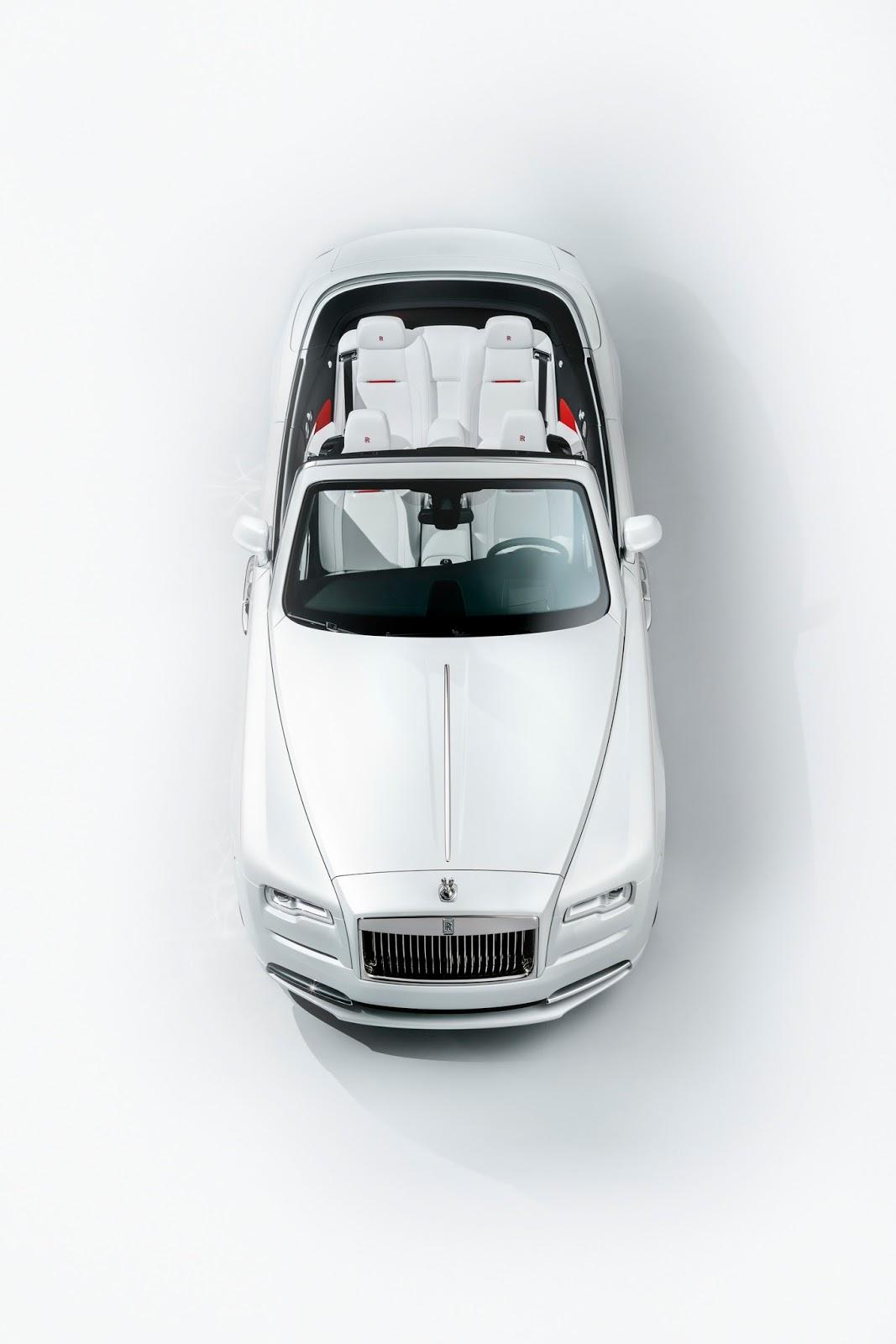 Rolls Royce Reveals Fashion Inspired Dawn Special Edition
