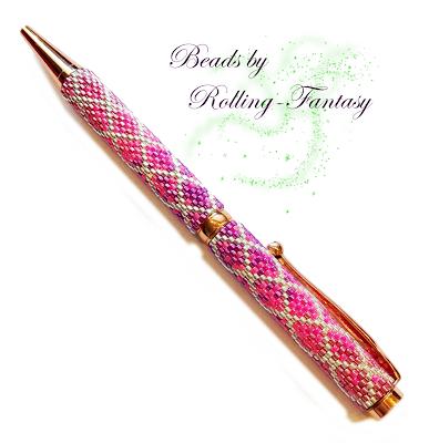 Kugelschreiber in Pink