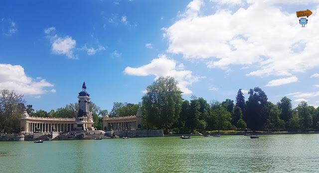 Estanque Grande del Gran Retiro - Madrid