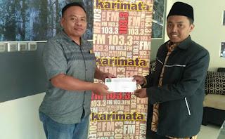 Ramadhan 1440, Tim Dakwah PCNU Pamekasan Jalin Kerja Sama Dengan Media Massa