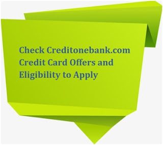Credit One Bank Credit Card Offers