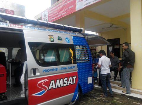 Samling Samsat Cinere Hadir di Kelurahan Pasir Putih