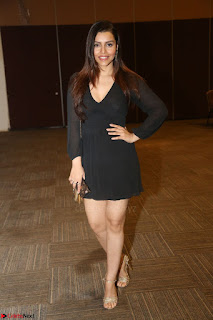 Kyra Dutta in black At Rogue Movie Audio Launch ~  056.JPG