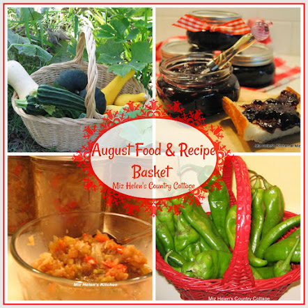 August  Food and Recipe Basket