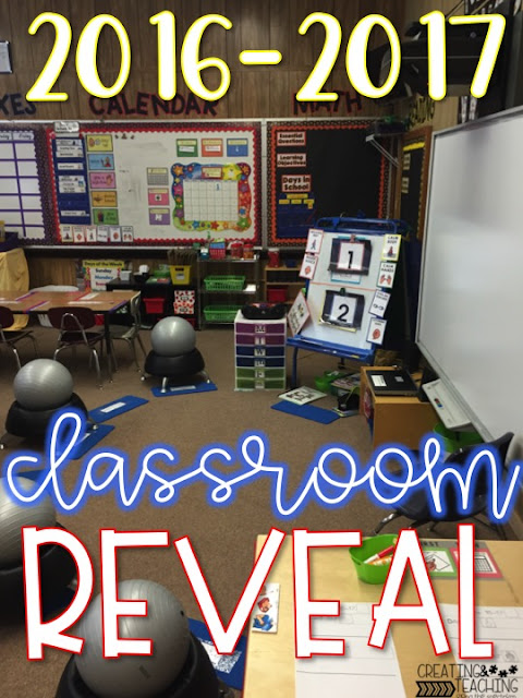 The 2016-2017 Classroom Reveal--that was NEVER shared.