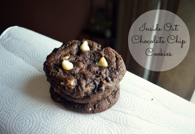 Recipe: Inside Out Chocolate Chip Cookies | Organized Mess