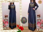 103 Gamis Denim Bordir SOLD OUT