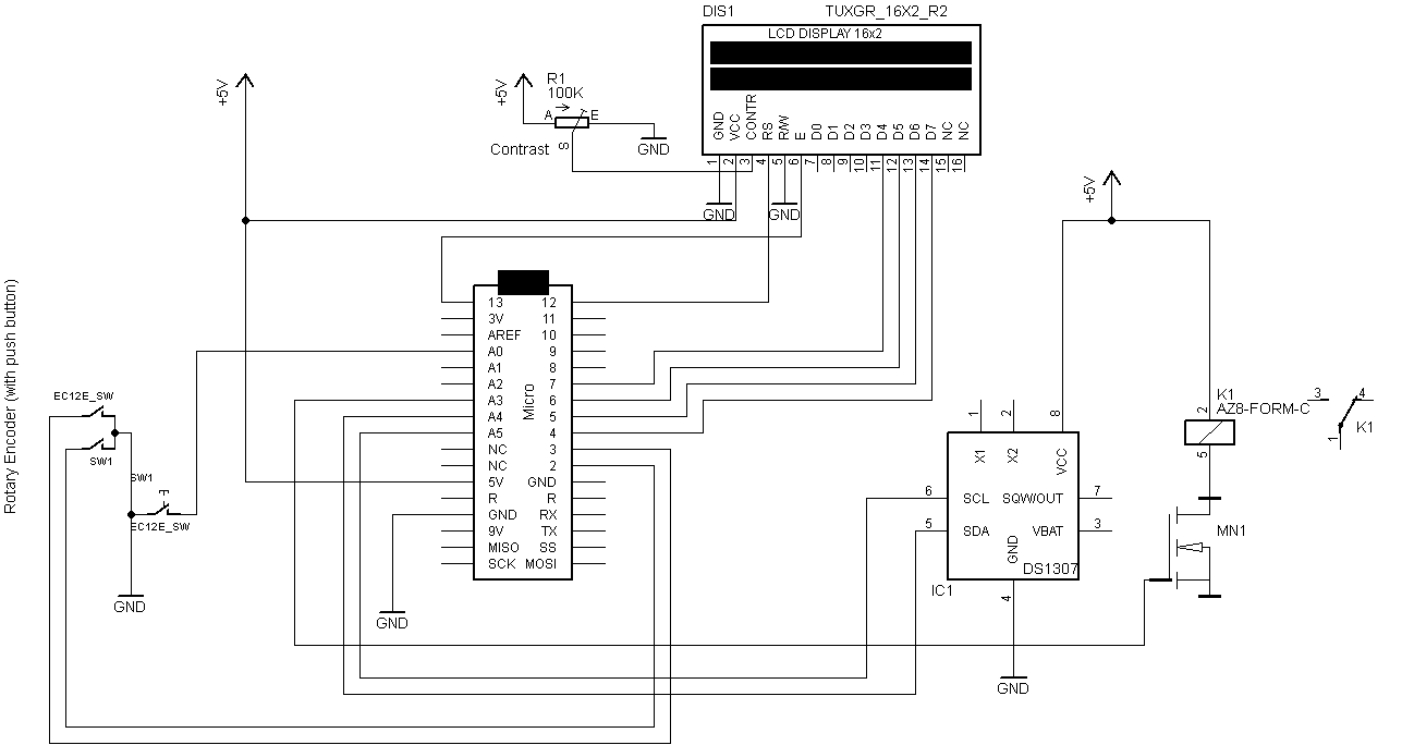 arduino relay module wiring diagram