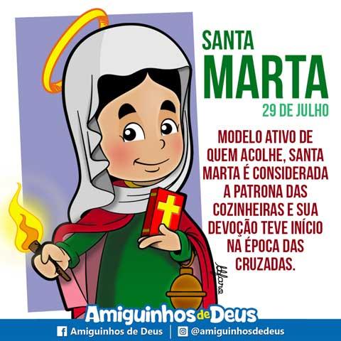 santa marta desenho