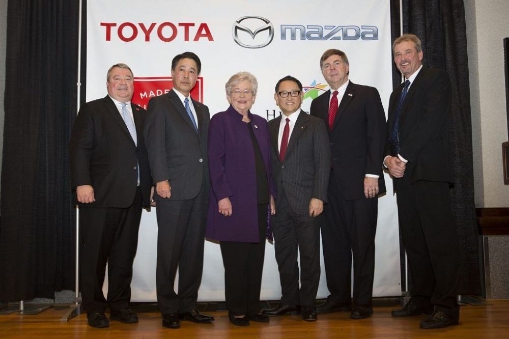 Mazda and Toyota select Alabama for new U.S. plant