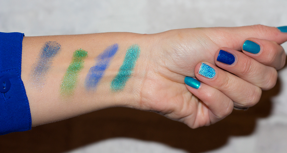 swatches - urban decay - marc jacobs