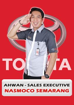 Marketing Executive Ahwan - Dealer Mobil Nasmoco Toyota Gombel Semarang Pati Kudus Purwodadi Salatiga Kendal Jepara Ungaran