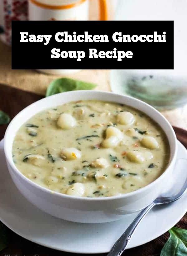 Easy Chicken Gnocchi Soup Recipe | Chicken Soup Recipe | Chicken Recipe | Dinner Recipe | Easy Dinner Recipe #chicken #soup #chickensoup #souprecipe #dinner #dinnerrecipe #easydinnerrecipe