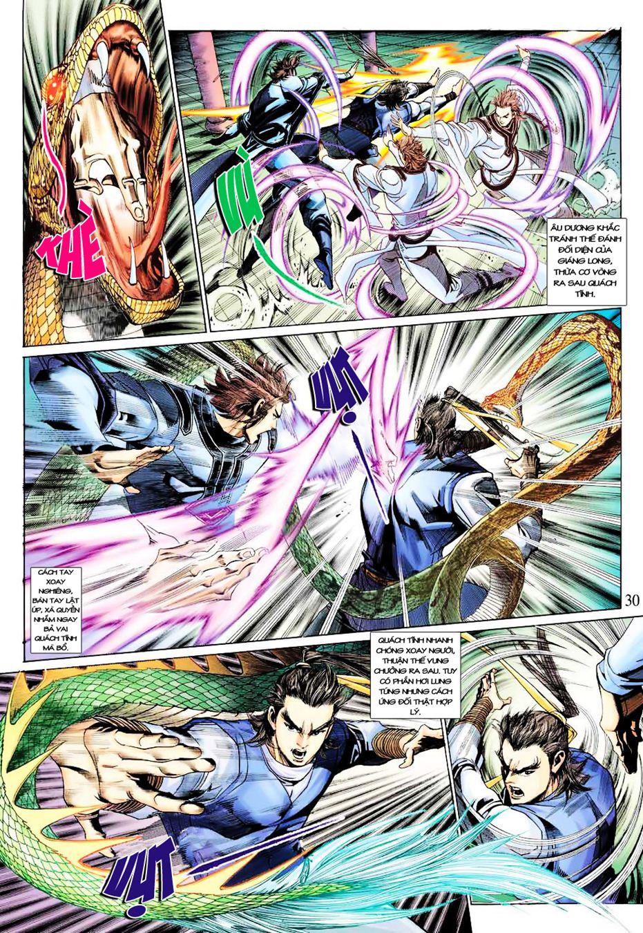 Anh Hùng Xạ Điêu anh hùng xạ đêu chap 35 trang 30