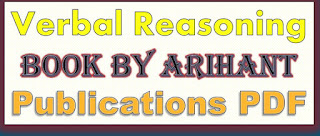 Verbal Reasoning Book By Arihant Publications PDF