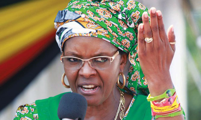 "Journalist granted bail after Grace Mugabe ""underwear"" story"