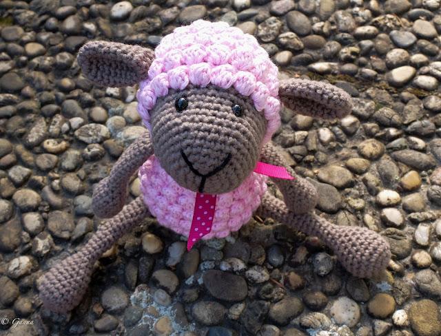 Crocheted crochet hook