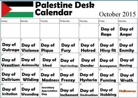 Henoch´s Christen-Zionisten Blog: Palestinian Agenda/Calendar