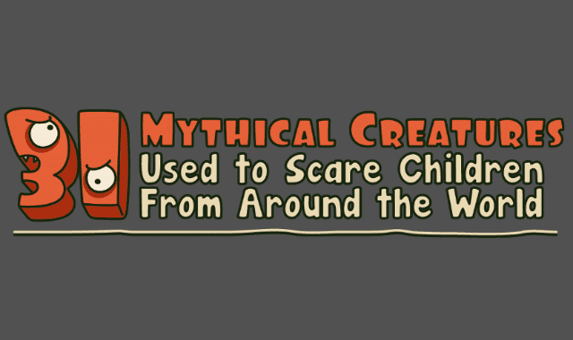 31 Mythical Creatures Used to Scare Children into Behaving from Around the World