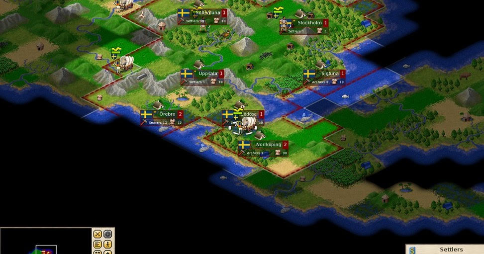Indie Retro News: Freeciv - A worthy Open-Source Inspired