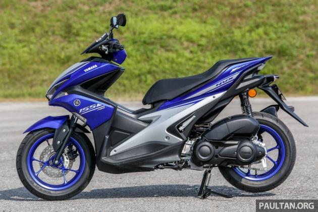 Yamah NVX 155 Malaysia