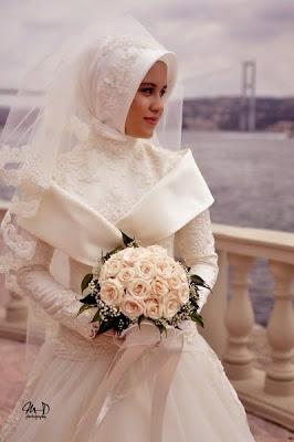 Baju Pengantin Muslim Modern Dan Elegan Masa Kini