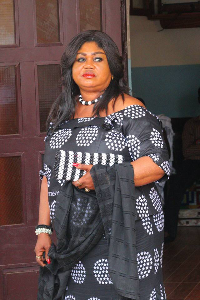 Robbers attack actress, Naana Hayford..son narrates how she escaped death