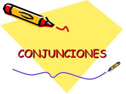 ejercicio de conjunciones para Español 2L