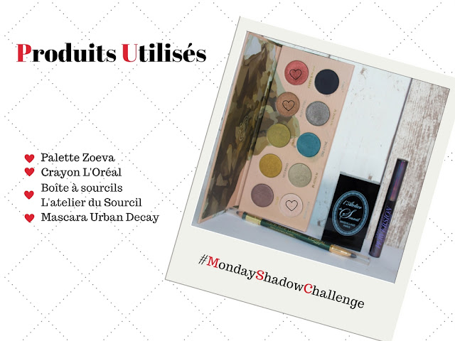 Monday Shadow Challenge : Rouge Brique