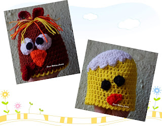 free crochet pattern, free crochet beanie pattern, free crochet baby cap pattern, free crochet new born baby cap pattern, free crochet preemie baby cap pattern, free crochet turkey cap pattern, free crochet chick cap pattern, free crochet just hatched chick cap pattern, Oswal Cashmilon yarn,