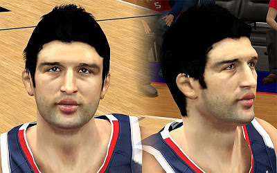 NBA 2K13 Zaza Pachulia Cyberface Patch