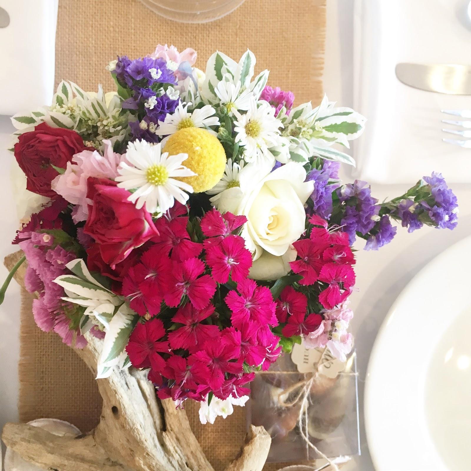 Sam S Club Wedding Flowers: Urban Flower: Wildflower Wedding Flowers At Bilgola Beach