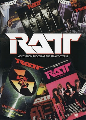 Ratt Videos From the Cellar The Atlantic Years 2007 DVD R1 NTSC VO