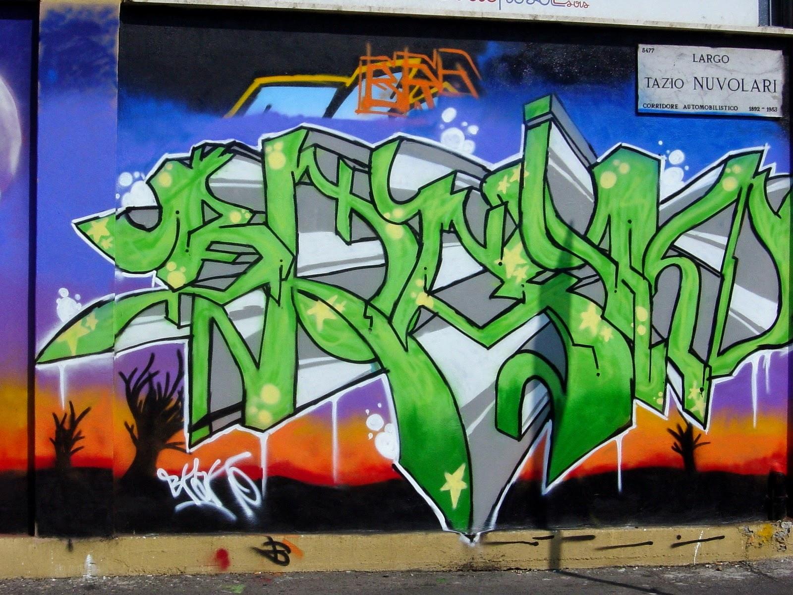 Graffiti alphabet letters generator