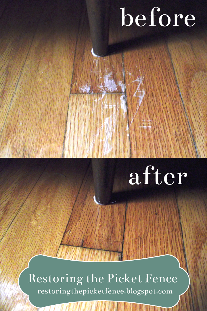 Removing Scratches From A Wood Floor, How To Remove Scratches On Laminate Wood Flooring