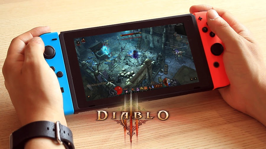 diablo 3 nintendo switch port