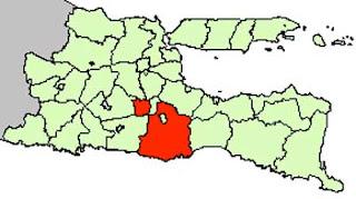Gambar Peta Lokasi Kabupaten Malang