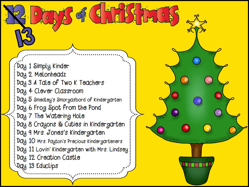 12 Days Of Christmas Freebie!