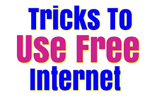 Tricks to use Free Internet