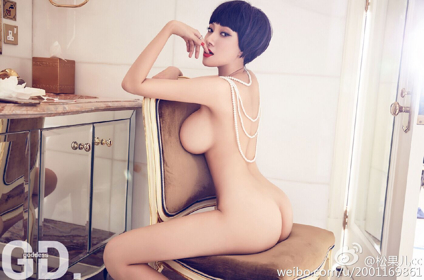 Busty Naked Thick Sex Slave Cosplay Chinese Model Song Guo Er 宋國洱