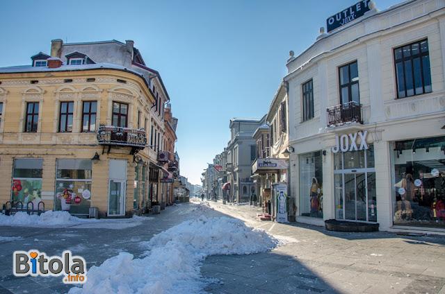 Shirok Sokak str., Bitola, Macedonia - 27.01.2019