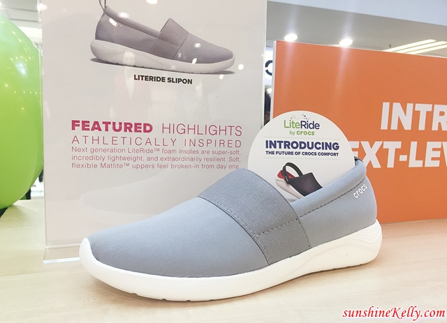 2ccb7746e3e8 CROCS LiteRide™ Newest Innovation in Comfort Technology