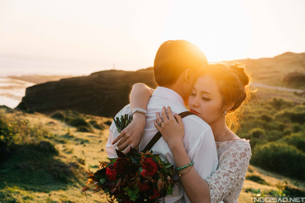 Chiêm ngưỡng bộ ảnh cưới thơ mộng trên đảo Lý Sơn - Hình 5