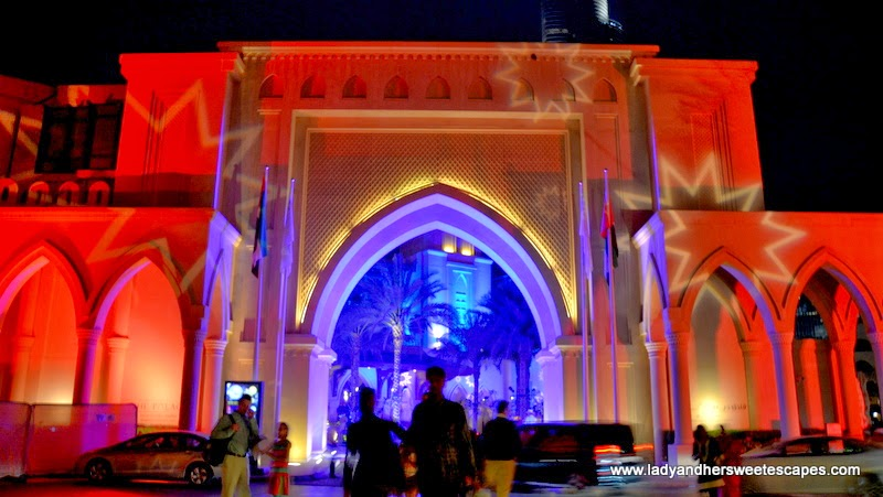Stars Gate at Dubai Festival of Lights