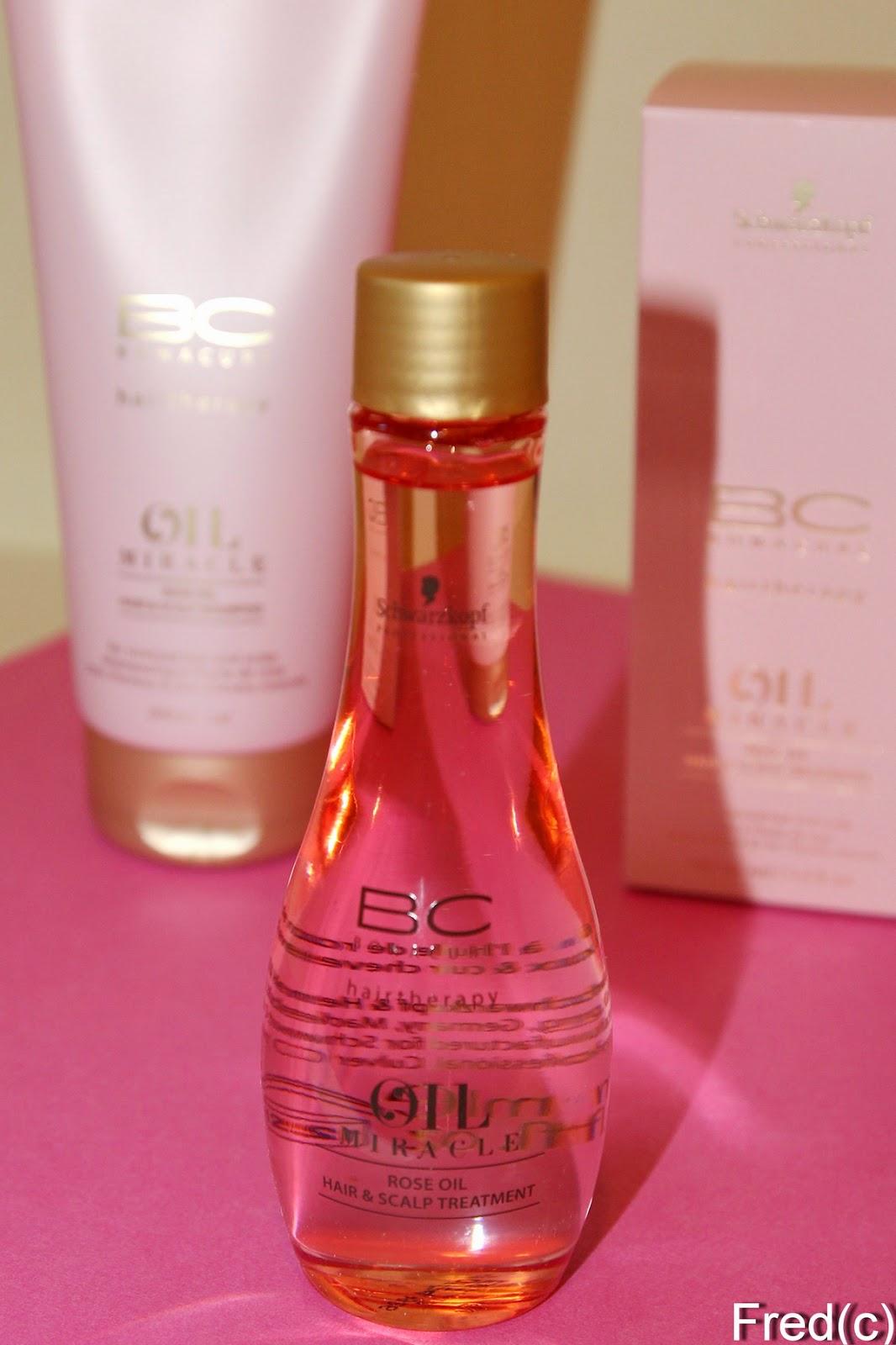Шварцкопф масло для волос розовое