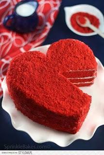 Foto Kue Ulang Tahun Pernikahan Romantis
