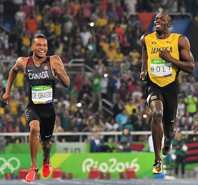 1a4 - #Rio Olympics 2016:Usain Bolt wins third straight Gold medal in 200m race as promise