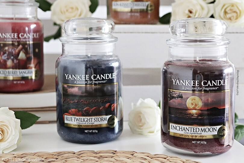 enchanted moon yankee candle i blue twilight storm