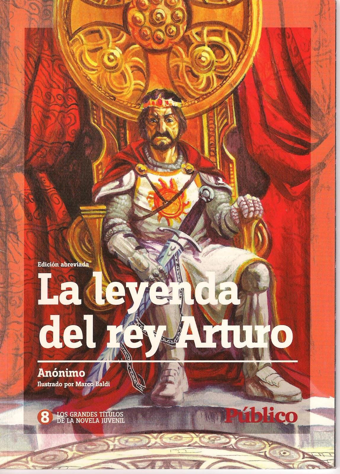 Rincón de la Lectura 3: La leyenda del rey Arturo